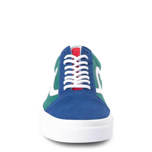alternate image alternate view Vans Old Skool Skate Shoe - Blue / Green / YellowALT4