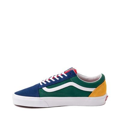 Alternate view of Vans Old Skool Skate Shoe - Blue / Green / Yellow
