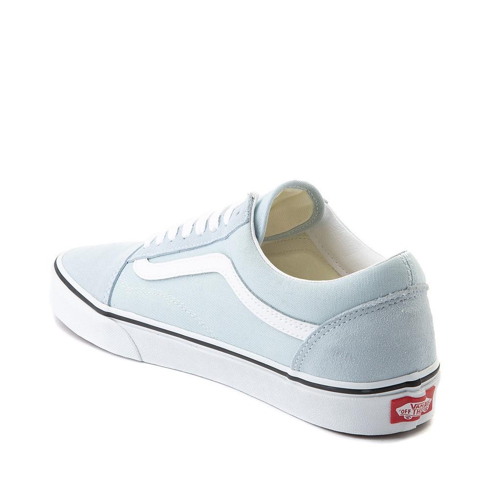 Vans Old Skool Skate Shoe - Baby Blue