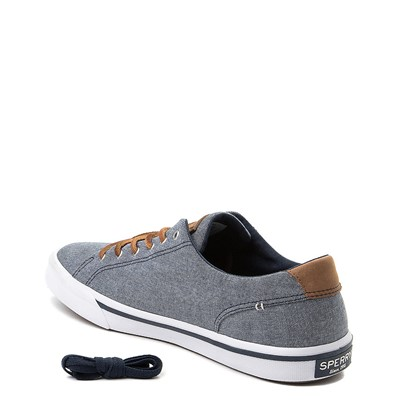 Alternate view of Mens Sperry Top-Sider Striper Casual Shoe - Navy