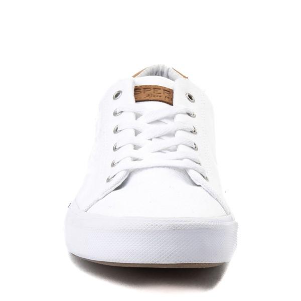 alternate view Mens Sperry Top-Sider Striper Casual Shoe - WhiteALT4