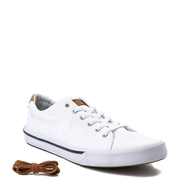 alternate image alternate view Mens Sperry Top-Sider Striper Casual Shoe - WhiteALT1