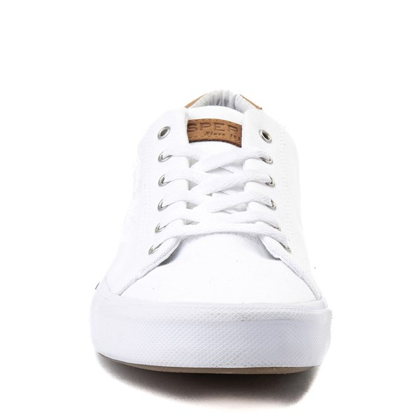alternate image alternate view Mens Sperry Top-Sider Striper Casual Shoe - WhiteALT4