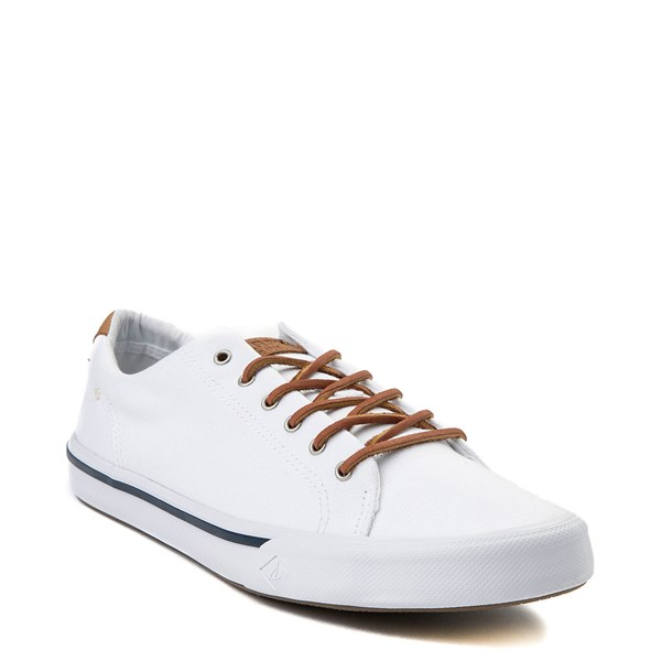 alternate image alternate view Mens Sperry Top-Sider Striper Casual Shoe - WhiteALT6