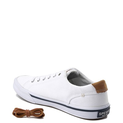 Alternate view of Mens Sperry Top-Sider Striper Casual Shoe - White