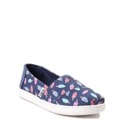 Alternate view of TOMS Classic Popsicle Slip On Casual Shoe - Little Kid