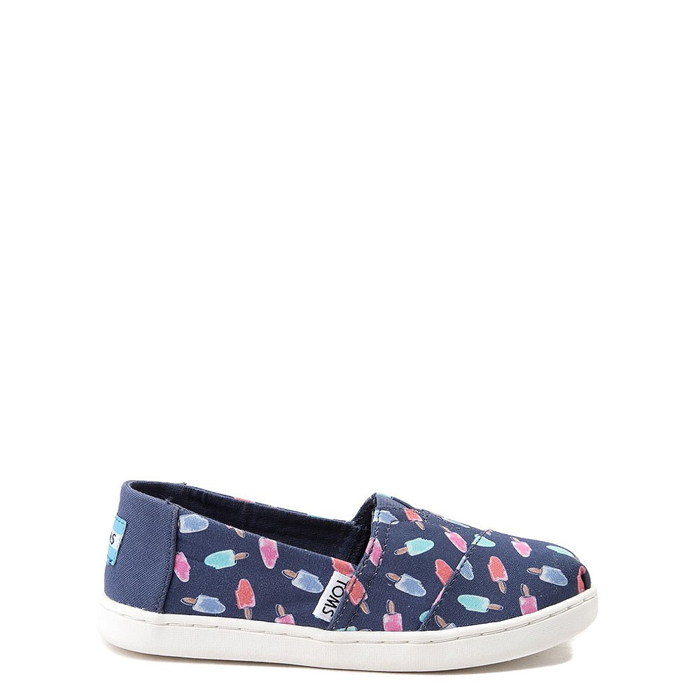 TOMS Classic Popsicle Slip On Casual Shoe - Little Kid