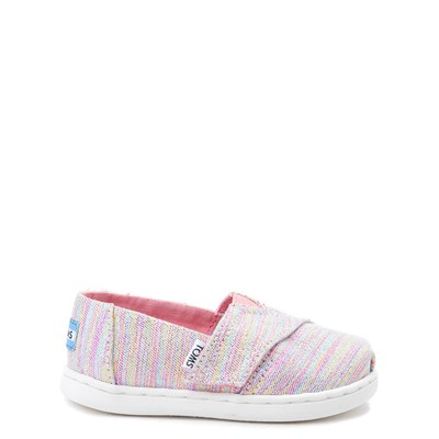 Main view of Toddler TOMS Glimmer Casual Shoe