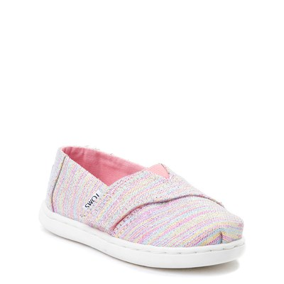 Alternate view of Toddler TOMS Glimmer Casual Shoe