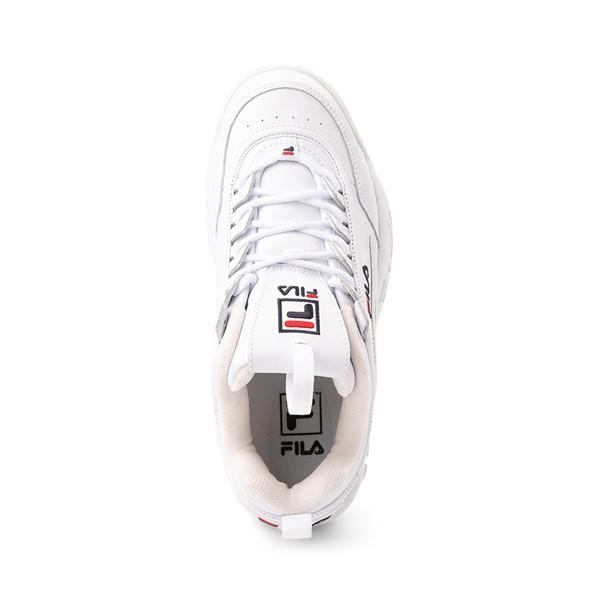 alternate view Womens Fila Disruptor 2 Premium Athletic Shoe - WhiteALT2