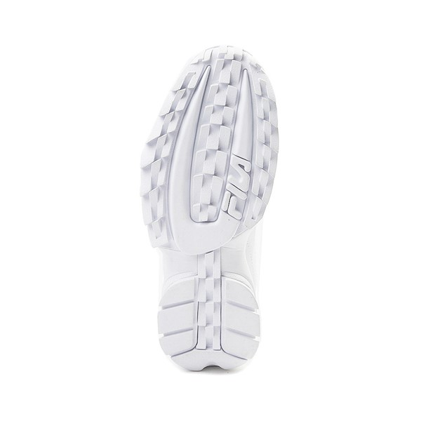 alternate view Womens Fila Disruptor 2 Premium Athletic Shoe - WhiteALT3