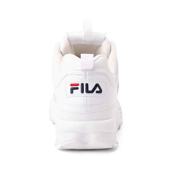 alternate view Womens Fila Disruptor 2 Premium Athletic Shoe - WhiteALT4