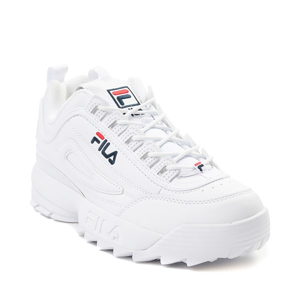 alternate view Womens Fila Disruptor 2 Premium Athletic Shoe - WhiteALT5
