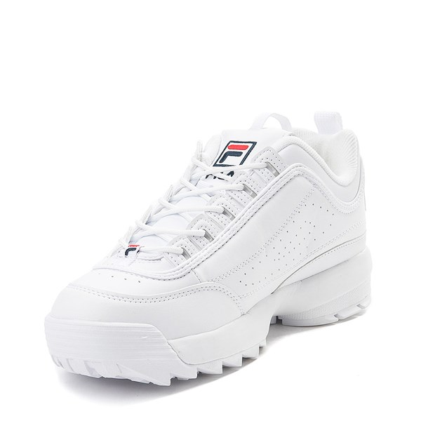 alternate image alternate view Womens Fila Disruptor 2 Premium Athletic Shoe - WhiteALT3