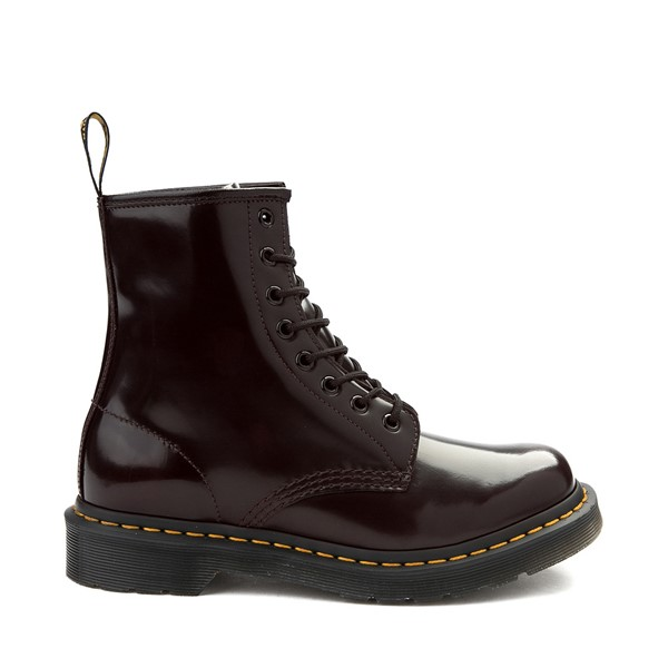 Main view of Womens Dr. Martens 1460 8-Eye Boot - Cherry Red