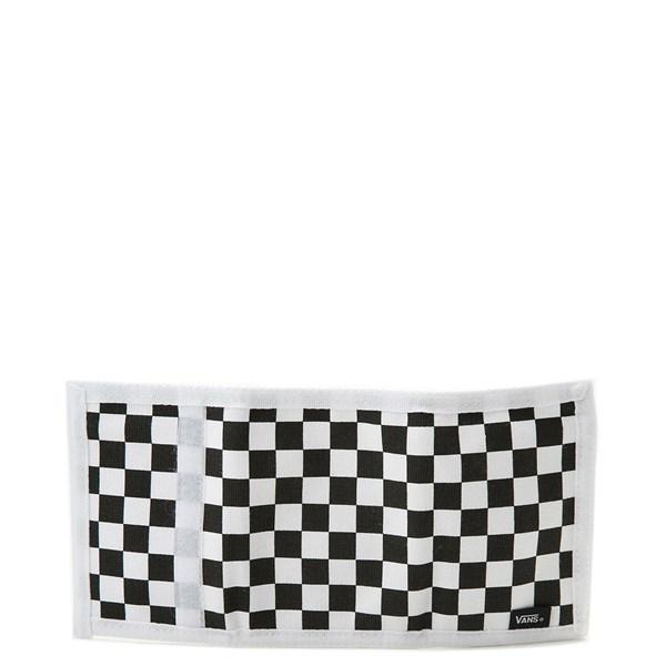 alternate image alternate view Vans Slipped Tri-Fold Checkerboard Wallet - Black / WhiteALT2