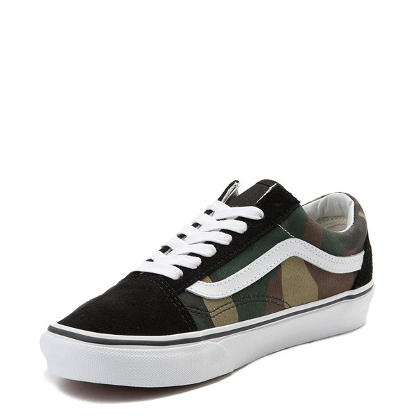 alternate image alternate view Vans Old Skool Camo Skate Shoe - OliveALT3