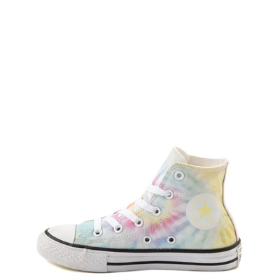 Alternate view of Converse Chuck Taylor All Star Hi Tie Dye Sneaker - Little Kid