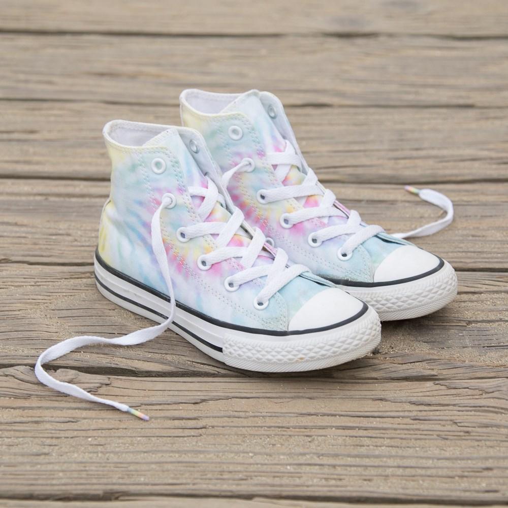Converse Chuck Taylor All Star Hi Tie Dye Sneaker Little Kid