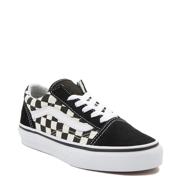 alternate image alternate view Vans Old Skool Chex Skate Shoe - Little Kid / Big KidALT1