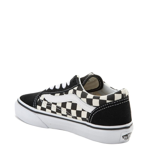 alternate image alternate view Vans Old Skool Chex Skate Shoe - Little Kid / Big KidALT2