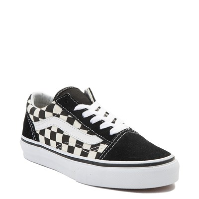 Alternate view of Vans Old Skool Chex Skate Shoe - Little Kid / Big Kid