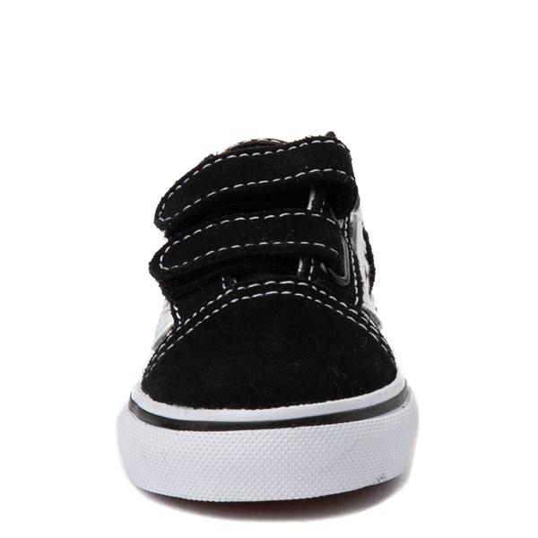 alternate image alternate view Vans Old Skool V Chex Skate Shoe - Baby / ToddlerALT4