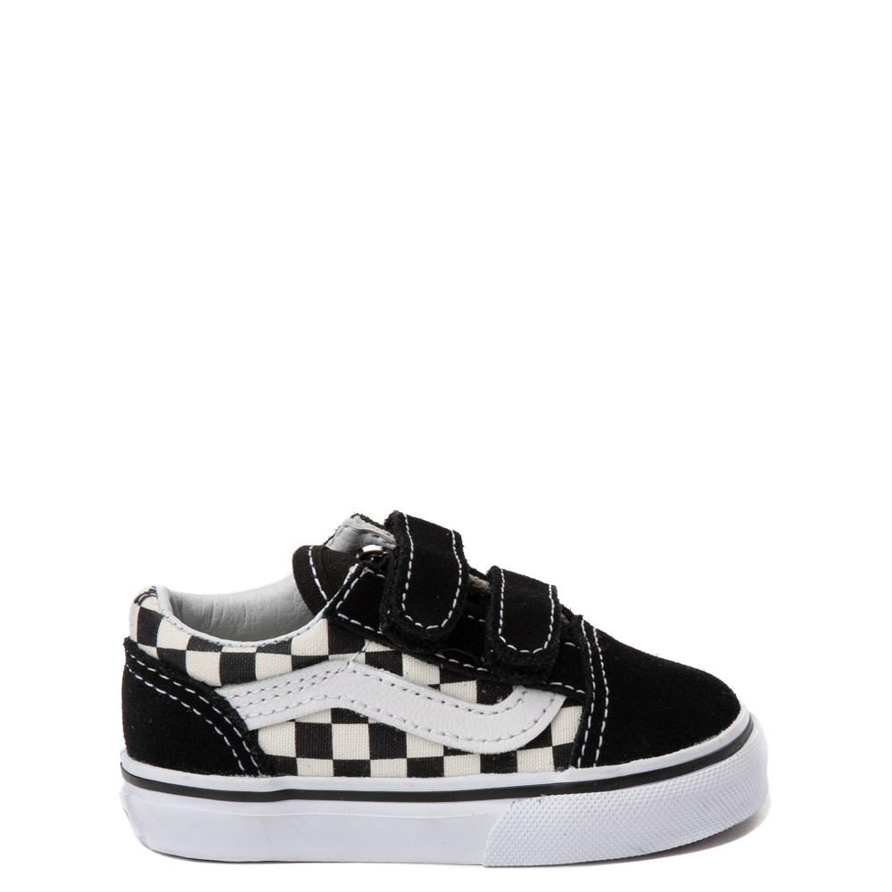 ebb0d91c8e Vans Old Skool V Chex Skate Shoe - Baby   Toddler