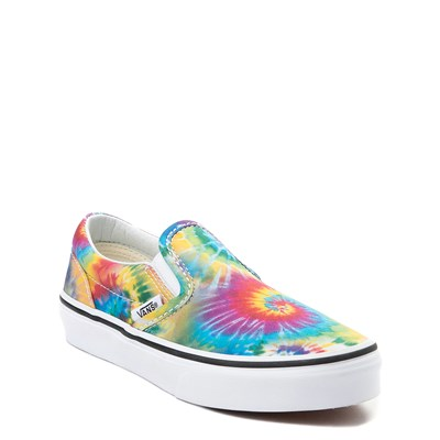 Alternate view of Vans Slip On Tie Dye Skate Shoe - Little Kid / Big Kid