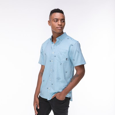 Main view of Mens Vans SS Houser Buttondown Shirt