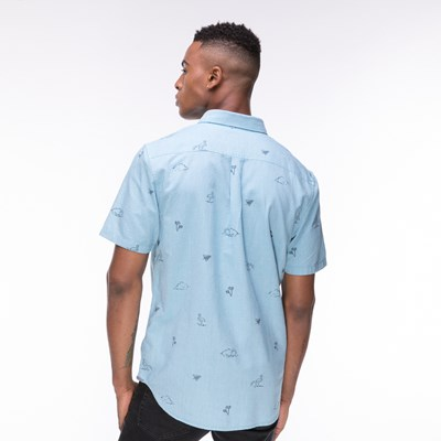 Alternate view of Mens Vans SS Houser Buttondown Shirt