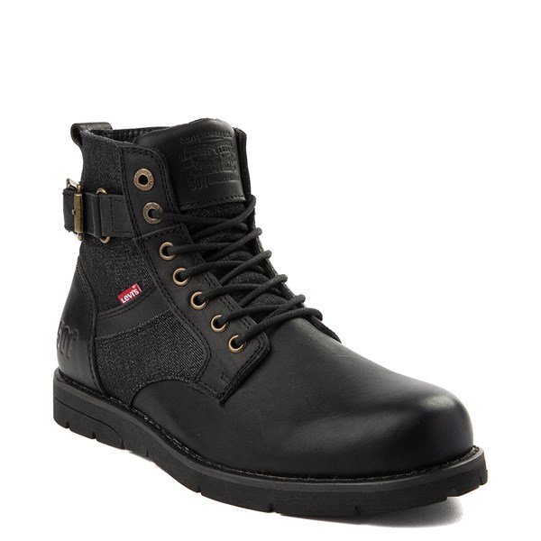 alternate image alternate view Mens Levi's 501® Cobalt Boot - BlackALT1