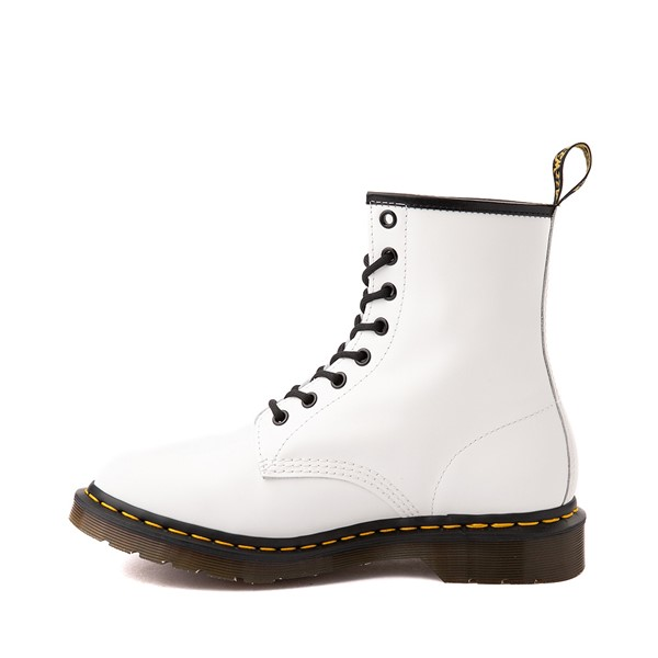 alternate image alternate view Womens Dr. Martens 1460 8-Eye Boot - WhiteALT1