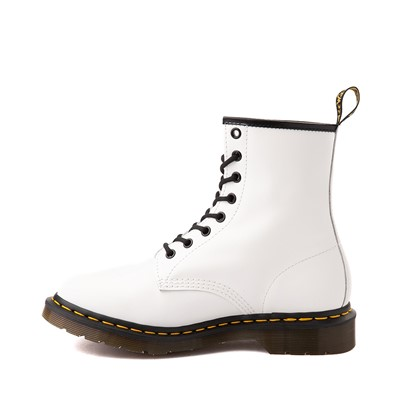 Alternate view of Womens Dr. Martens 1460 8-Eye Boot - White