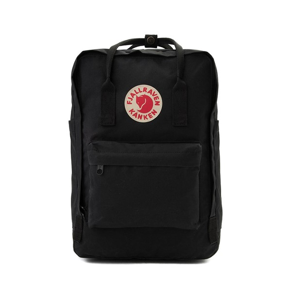 "Main view of Fjallraven Kanken 15"" Laptop Backpack - Black"