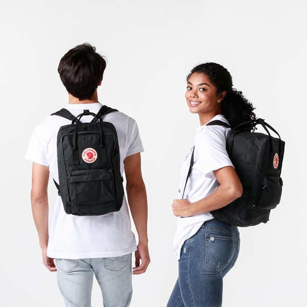 "alternate image alternate view Fjallraven Kanken 15"" Laptop Backpack - BlackALT1BADULT"