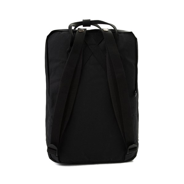 "alternate image alternate view Fjallraven Kanken 15"" Laptop Backpack - BlackALT2"