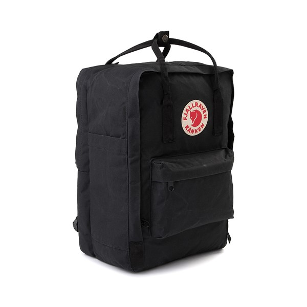 "alternate image alternate view Fjallraven Kanken 15"" Laptop Backpack - BlackALT4B"