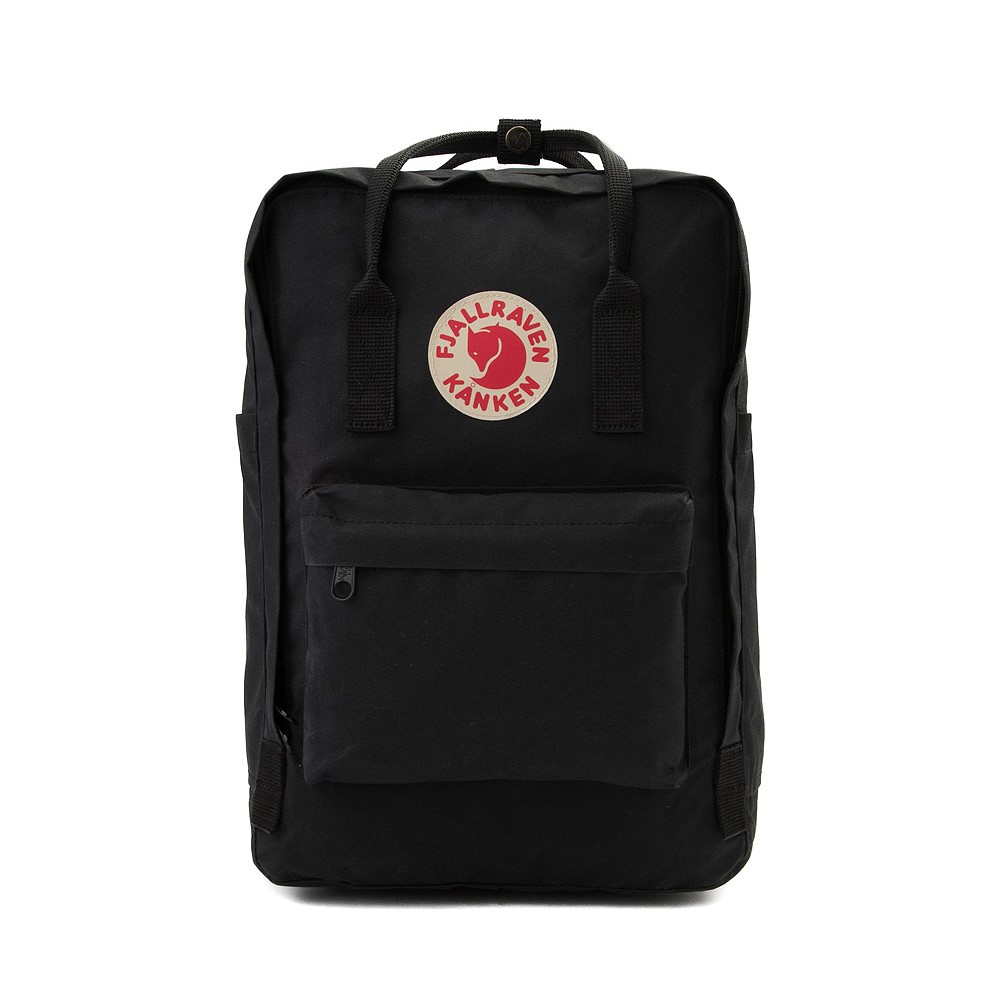 "Fjallraven Kanken 15"" Laptop Backpack - Black"