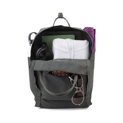 "Alternate view of Fjallraven Kanken 15"" Laptop Backpack - Forest Green"