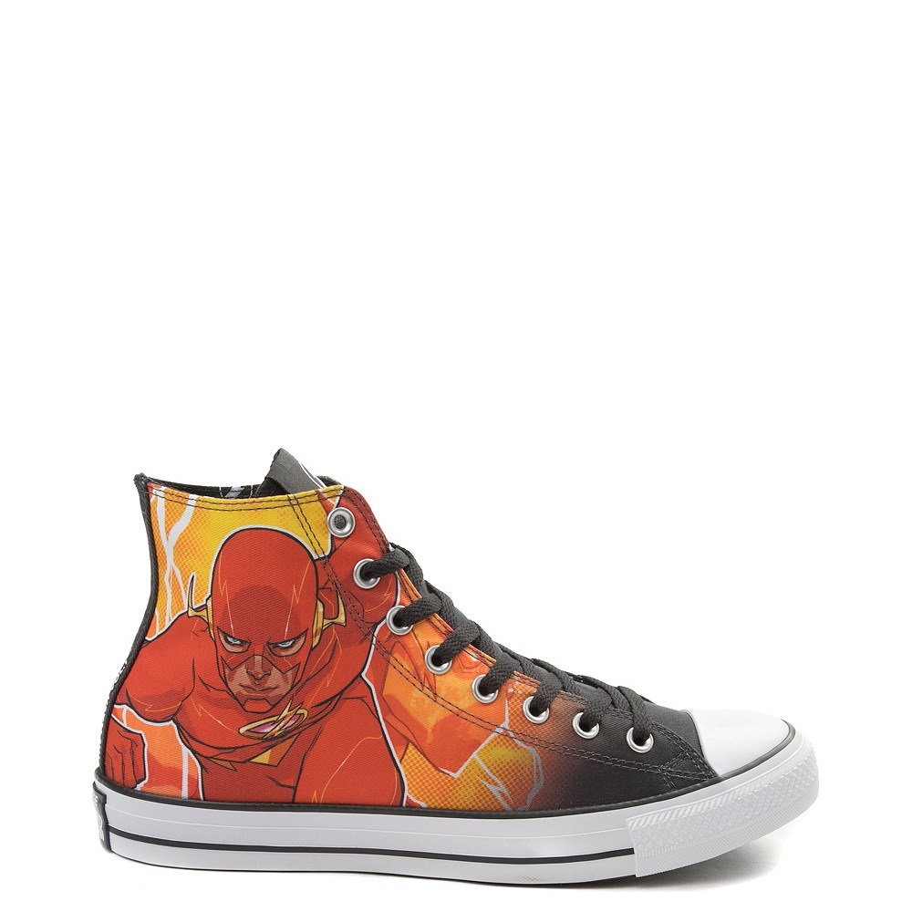 969bc1b074e4 Converse Chuck Taylor All Star Hi DC Comics Flash Sneaker ...