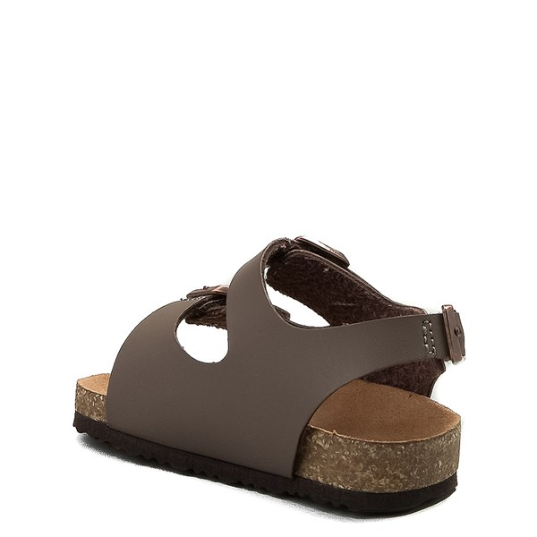 alternate image alternate view MIA Footbed Sandal - Baby / Toddler - MochaALT2