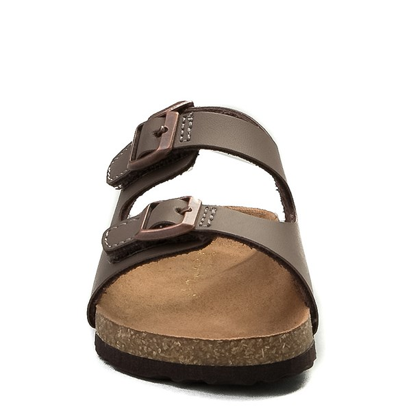 alternate image alternate view MIA Footbed Sandal - Baby / Toddler - MochaALT4