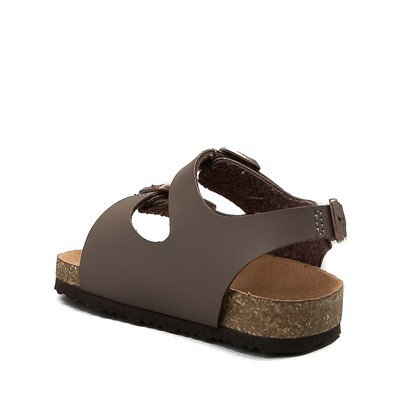 Alternate view of MIA Footbed Sandal - Baby / Toddler - Mocha
