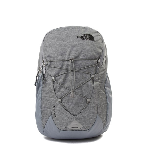 Main view of The North Face Jester Backpack - Heather Grey