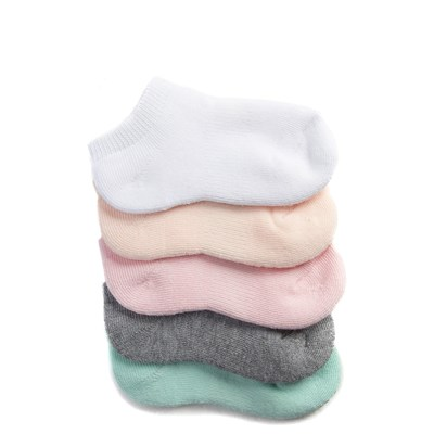 Main view of Pastel Socks 5 Pack - Girls Toddler