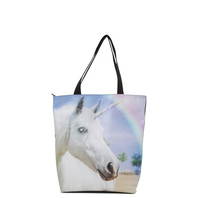 Main view of Womens Unicorn Rainbow Tote