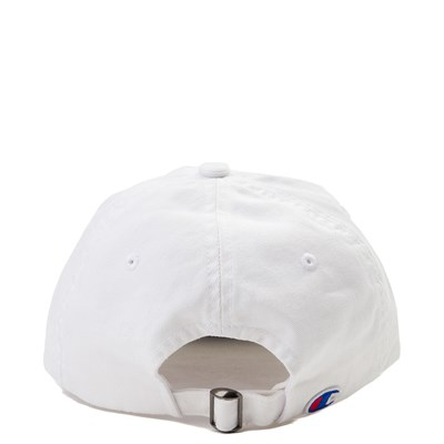 Alternate view of Champion Script Dad Hat - White