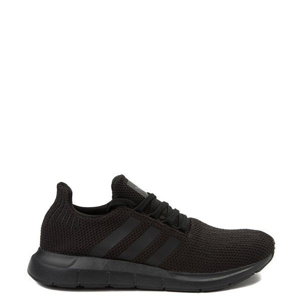 Mens adidas Swift Run Athletic Shoe - Black Monochrome