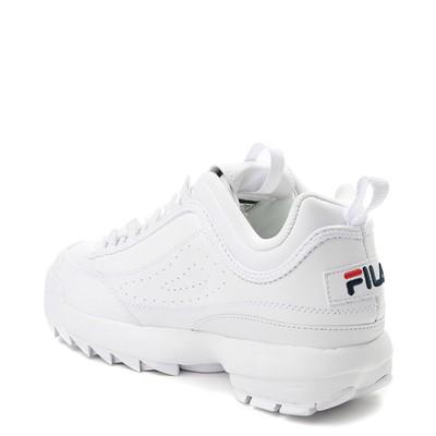 Alternate view of Mens Fila Disruptor 2 Premium Athletic Shoe - White